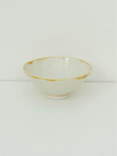 [竹内玄太郎]白磁飯茶碗