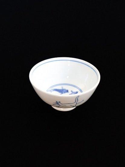 [ 晶 ]飯碗 猫、見込みに鯉