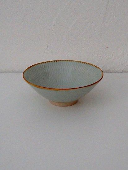 [竹内玄太郎]青白磁茶碗