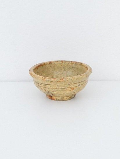 [ 田鶴濱守人 ]枯黄釉斑小鉢