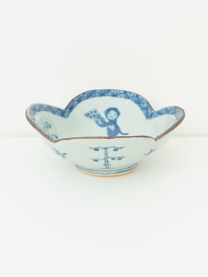 [ 林大輔 ]輪花鉢 サルカニ