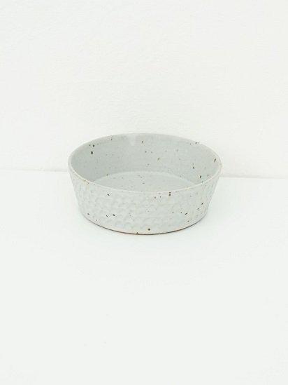 [ 伊藤 豊 ]ブロック5.5寸切立ボウル 粉引