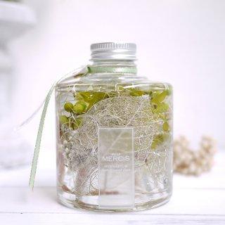 【ハーバリウム】『THE FOREST』エバーグリーンボトル LEDティーライトキャンドル付き
