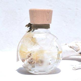 【パワーストーン+ハーバリウム】『YURAGI -ゆらぎ-』デルフィニウム・ムーンストーンボトル