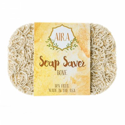 【アイラ AIRA】ナチュラルソープディッシュ トウモロコシと大豆由来の石鹸置き(ベージュ)