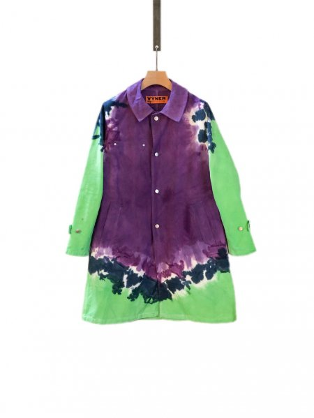 <img class='new_mark_img1' src='https://img.shop-pro.jp/img/new/icons23.gif' style='border:none;display:inline;margin:0px;padding:0px;width:auto;' />Worker Coat - Tie Dye