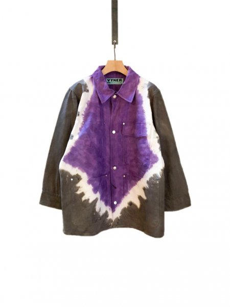 <img class='new_mark_img1' src='https://img.shop-pro.jp/img/new/icons23.gif' style='border:none;display:inline;margin:0px;padding:0px;width:auto;' />Worker Jacket - Tie Dye