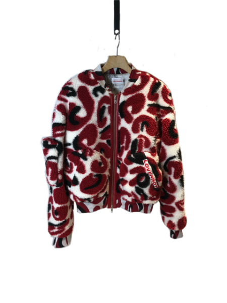 <img class='new_mark_img1' src='https://img.shop-pro.jp/img/new/icons23.gif' style='border:none;display:inline;margin:0px;padding:0px;width:auto;' />Fake Fur Bomber Jacket