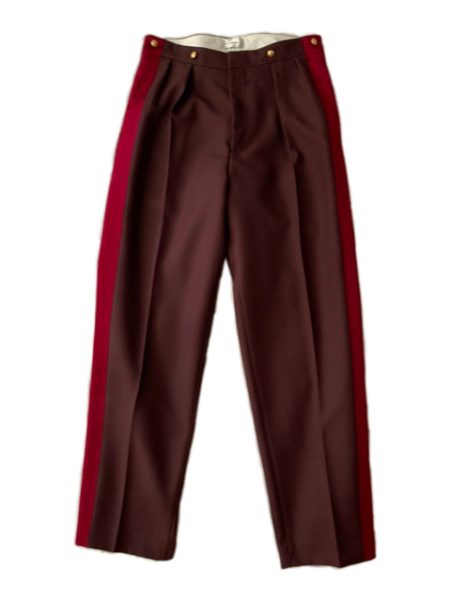 <img class='new_mark_img1' src='https://img.shop-pro.jp/img/new/icons23.gif' style='border:none;display:inline;margin:0px;padding:0px;width:auto;' />HANOVER MILITARY TROUSERS