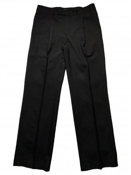 Pleated Straight Fit Trousers