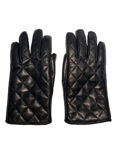 Quilted Leather Gloves<img class='new_mark_img2' src='https://img.shop-pro.jp/img/new/icons23.gif' style='border:none;display:inline;margin:0px;padding:0px;width:auto;' />