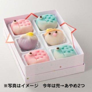 上生菓子 すこやか(端午の節句6個入セット)