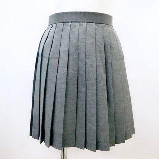 プリーツスカート グレー 40cm丈