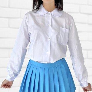TOP ACE スクールブラウス 丸襟 長袖