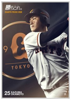 <img class='new_mark_img1' src='https://img.shop-pro.jp/img/new/icons47.gif' style='border:none;display:inline;margin:0px;padding:0px;width:auto;' />GIANTS PRIDE 2018 ポスター 25岡本和真