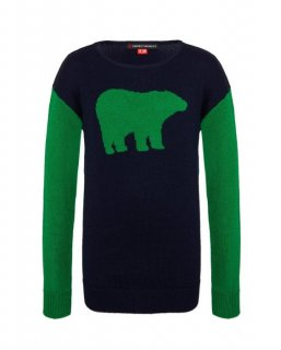 <img class='new_mark_img1' src='https://img.shop-pro.jp/img/new/icons20.gif' style='border:none;display:inline;margin:0px;padding:0px;width:auto;' />BEAR CREWNECK SWEATER KIDS