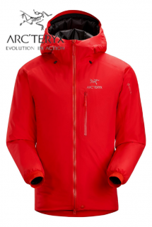 Alpha IS Jacket Mens Magma