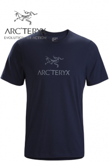 Arc-word T-Shirt SS Mens Kingfisher