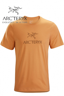 Arc-word T-Shirt SS Mens Masset Heather
