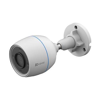 C3W/C3W Pro  2MP/4MP 発光LED搭載 防水防塵 265万画素 1080p ワイヤレス wifi 監視カメラ アレクサ対応 -EZVIZ