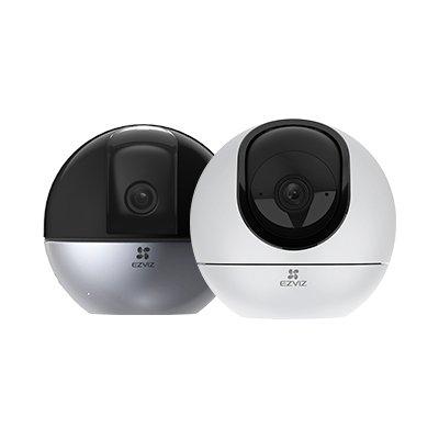 EZVIZ C6T / C6W 265万画素/400万画素 防犯カメラ 見守りカメラ 自動追跡 自動ズーム Wi-Fi対応 アレクサ対応 屋内用