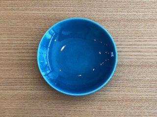 トルコ青丸小皿