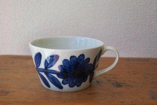 デイジーマグカップ青