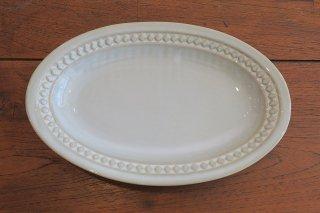 スカンジナビア楕円皿(ホワイト)