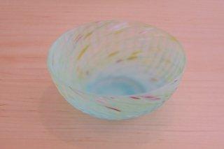 漲ガラス小鉢(緑)