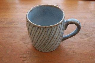 ブルーねじりマグカップ(波佐見焼)