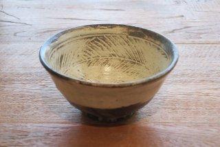 彫三島飯碗(鈴木智尋・京都)