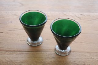 深緑グラス(山下達巳)