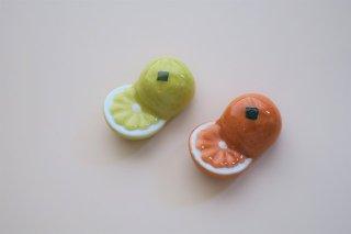 オレンジ・グレープフルーツペア箸置(2個1組)