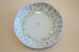 花の小路4寸皿