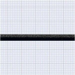 110416<br>TexTech ショックコード 3mm 黒色