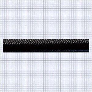 110417<br>TexTech ショックコード 4mm 黒色