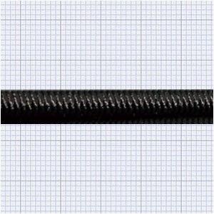 110418<br>TexTech ショックコード 5mm 黒色