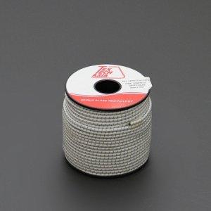 110421<br>TexTech ショックコード 3mm 白色 100M巻
