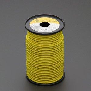 110479<br>TexTech ショックコード 6mm 黄色 50m巻