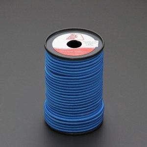 110481<br>TexTech ショックコード 6mm 青色 50m巻