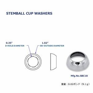 111869<br>Hayn ステムボールカップ 26 x 8.6mm<br>(SBC18)