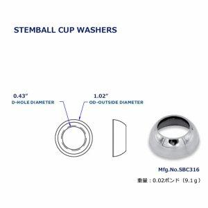 111871<br>Hayn ステムボールカップ 26 x 11mm<br>(SBC316)
