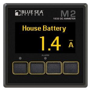225222<br>BlueSea M2 OLED DC Ampメーター <br>(1832)
