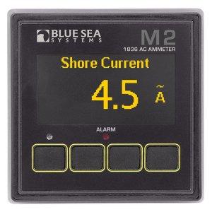 225225<br>BlueSea M2 OLED AC Ampメーター<br>(1836)