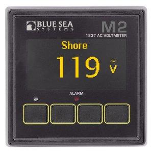 225226<br>BlueSea M2 OLED AC Vメーター<br>(1837)