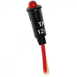 227505<br>BlueSea LED 表示ライト Red for 12/24V DC パネル<br>(8171)