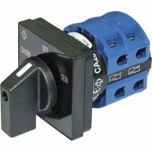 227755<br>BlueSea ACロータリーセレクタースイッチ2P + OFF 32Amp<br>(9009)