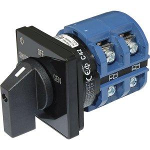 227757<br>BlueSea ACロータリーセレクタースイッチ2P + OFF 65Amp 2Pole<br>(9011)