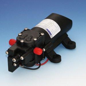 318046<br>SHURflo RVコンパクトポンプSLV10-BA41 1GPM<br>(SLV105-013)