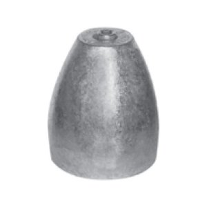 """320951<br>プロペラナット Zinc only B 5/8"""" x 15/16""""<br>(CMPNZB)"""